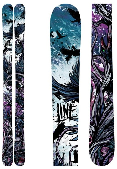 Line Skis Chronic Cryptonite