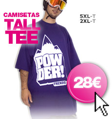 Tall tees - Tienda Powdertrends